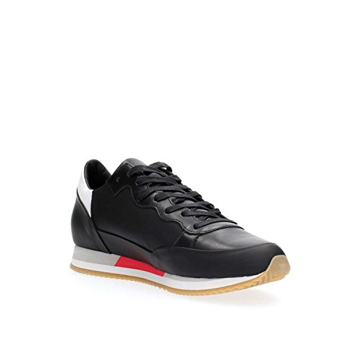 PHILIPPE MODEL PARIS CHLU VL18 BRIGHT BLACK SNEAKERS Homme Black