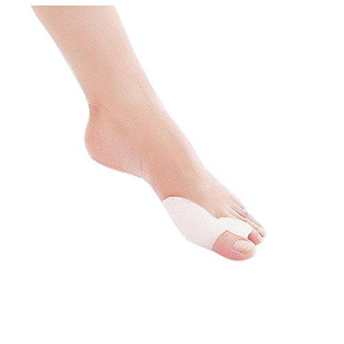 Dr.Pedi Gel Toe Bunion Corrector Separadores Hallux Valgus Pro Toe Estiramientos Bunion Straightener Alignment (1 Par)