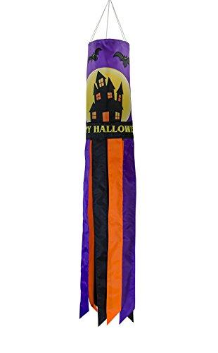 Noche de terror en la brisa 101,6cm Windsock–Colgante para decoración de Halloween–al aire libre Holiday Decor