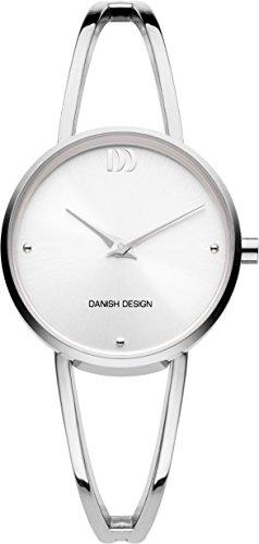 Danish Design Damen Datum klassisch Quarz Uhr mit Edelstahl Armband DZ120693