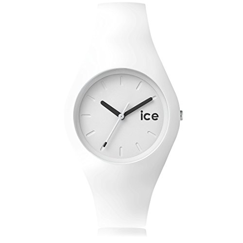Ice-Watch - ICE ola White - Montre blanche pour femme avec bracelet en silicone - 001227 (Medium)