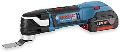 Bosch GOP 18 V-EC - Cortador universal (Ión de litio, 18V, 4 Ah, 2 kg) Negro, Azul