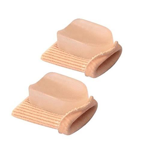 Punta elastica alta raddrizzatore delle dita martello punta alluce valgo correttore fasciatura punta separatore cura dei piedi fasciatura