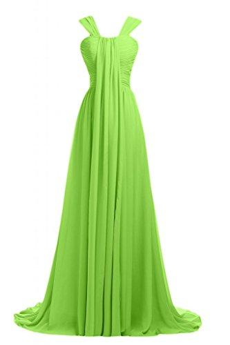 Sunvary Romantic 2014-vestito da damigella d'onore abito da sera lungo Pageant Gowns Light Green