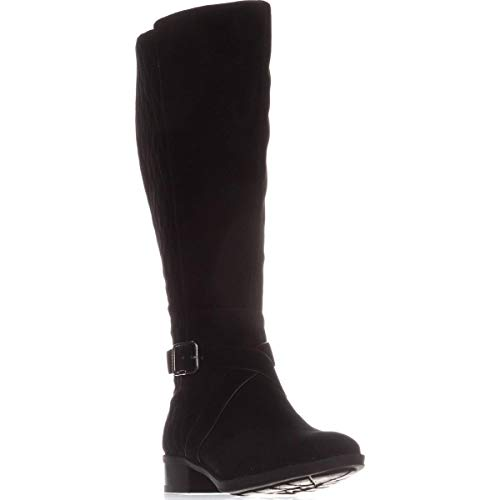 DKNY Frauen Mattie Knee higjh b Geschlossener Zeh Fashion Stiefel Schwarz Groesse 7 US /38 EU