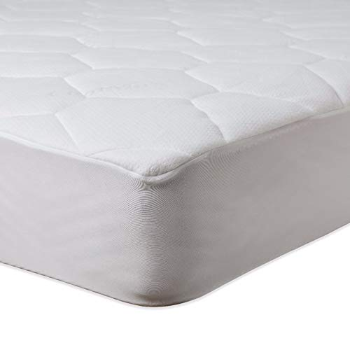 Covoco Home - Protector de colchón (200 x 200 + 40 cm), Color Blanco