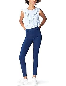 [Sponsorizzato]FIND - Comfort Stretch Mid Wash, Jeans attillati Donna