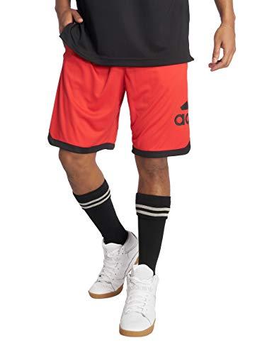 adidas Herren SPT BOS Shorts, Active red, XL - Adidas Bermuda Shorts