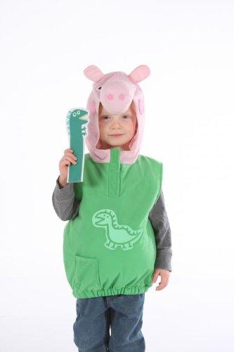 George Pig Tablier Fancy Dress Costume de dinosaure
