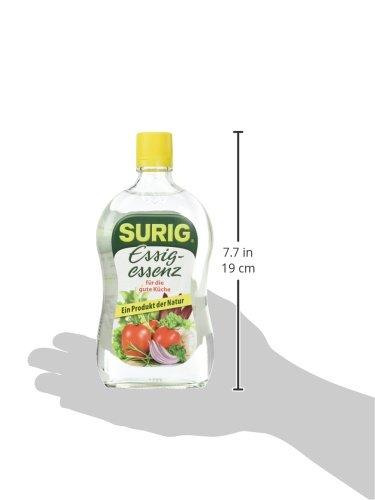 Surig Essig Essenz 25% Hell 400g - 4