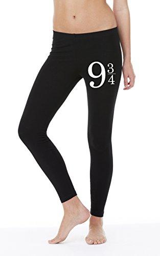 9 3/4 Legging Girls Nero Certified Freak