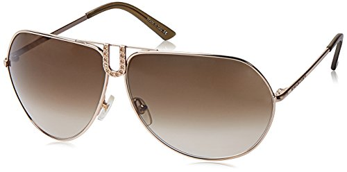 Emanuel Ungaro Gradient Aviator Women's Sunglasses (EU-75111-562|68|Brown lens)