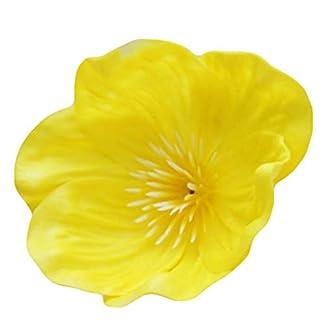 Gecheng Amapolas Artificiales de Flores Artificiales para decoración del hogar, Sala de Estar, decoración de Bodas y Fiestas