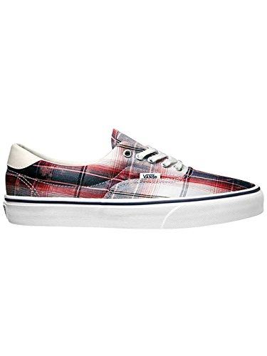 Vans Unisex-Erwachsene Era 59 Sneaker Red/na (distressed plaid)