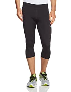 PUMA Core Men's 3/4-Length Running Tights black Size:L