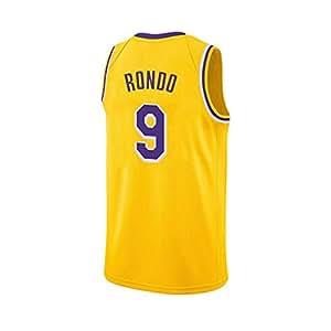 best website 2b21e bc6e0 SPORTSBOYBasketball Jersey Lakers New Season Retro Purple ...