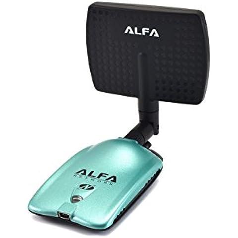Alfa AWUS036NH Wireless N Adapter 2000mW + 7dBi Antenna + U-Mount