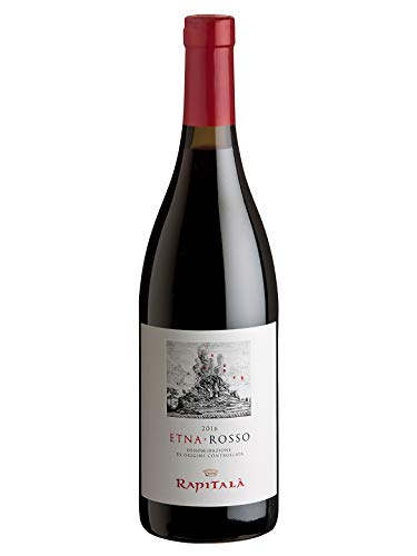 ETNA Rosso DOC - Tenuta Rapitalà - Vino rosso fermo 2016 - Bottiglia 750 ml