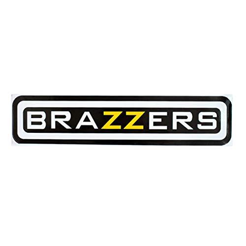 Preisvergleich Produktbild greestick Brazzerz Aufkleber Auto Sticker Bomb 20x5cm gelb Decal Vinyl