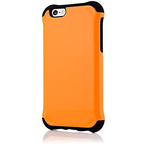delightable24 Extrem Schutz ARMOR TPU & PC Hybrid Schutzhülle für Apple iPhone 6 / 6S - Rot Orange