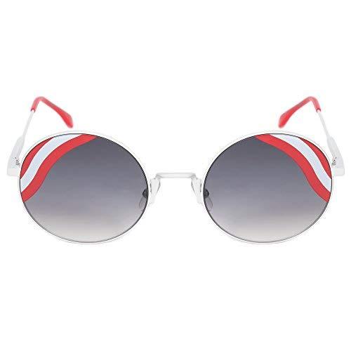 Fendi Damen Sonnenbrille FF 0248/S 9O VK6, Weiß (White/Dark Grey Sf), 53
