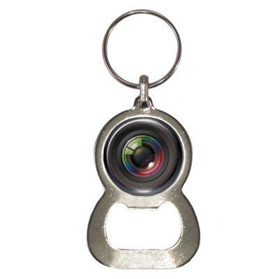 Preisvergleich Produktbild Kamera Objektiv Design Flaschenöffner Schlüsselanhänger