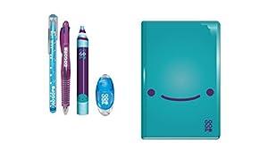 GOGOPO GOGOPO-GP0202 GP0202-Cuaderno de papelería, Color Azul (Keycraft GP0202)