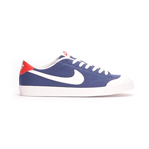 Nike Zoom All Court Ck, Chaussures de Skate Homme Azul (Azul (midnight navy/summit white))