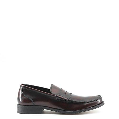 Made in Italia Shoes, Mocasines para Hombre, Burdeos, 43 EU