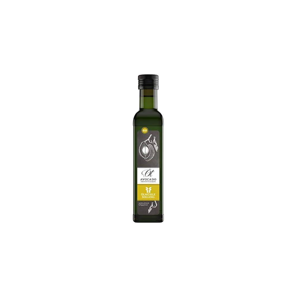 Lmhle Solling Avocadol Aus Fruchtfleisch Nativ Kaltgepresst 250ml Bio