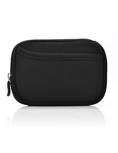 Schwarz Weich Tasche für Polaroid ZIP/HP Sprocket/Alle LG&Fujifilm Pocket Taschen-Fotodrucker