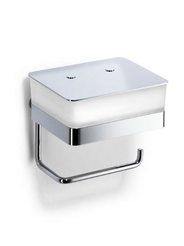 Giese 31770-02 WC-Duo - Dispensador de papel higiénico (con depósito para toallitas húmedas, montaje en pared, cromado)
