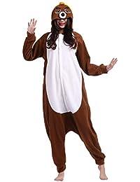 Unisex Animal Pijama Ropa de Dormir Cosplay Kigurumi Onesie Topo Disfraz para Adulto Entre 1,