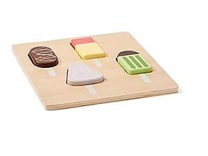 Kids Concept Helados Bristo Puzzles 3D Unisex, Multicolor (1000347)