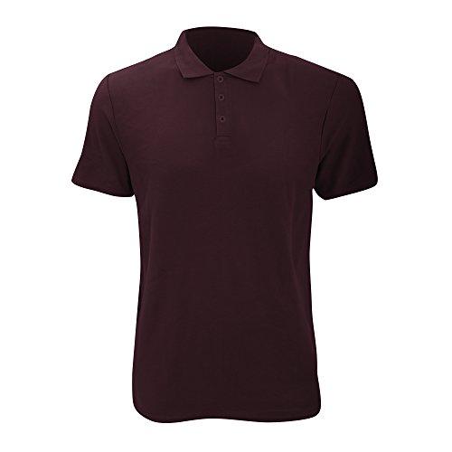 Anvil Herren Fashion Polo-Shirt, Kurzarm (Large) (Kastanie) -
