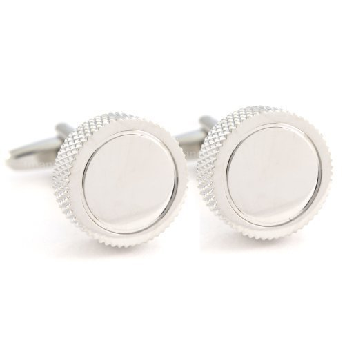 textured-dial-shape-cufflinks-in-gift-box