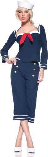 Preisvergleich Produktbild Matrosen- Ship Mate- Kostüm Damen Gr. S