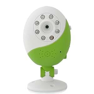 SHOPINNOV Caméra sans fil pour la surveillance des enfants Vision nocturne Visualisation sur Smartphone iOS et Android