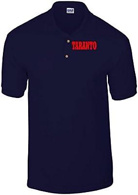 T-Shirtshock - Polo WC0855 TARANTO ITALIA CITTA STEMMA LOGO
