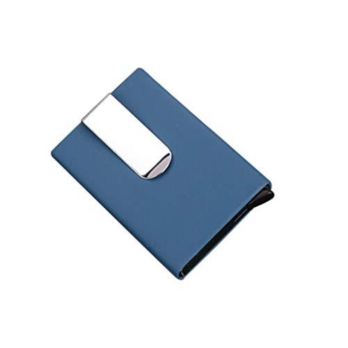 TDFGCR Bank Kreditkarte Paket Kartenhalter Visitenkartenetui Box-Blau