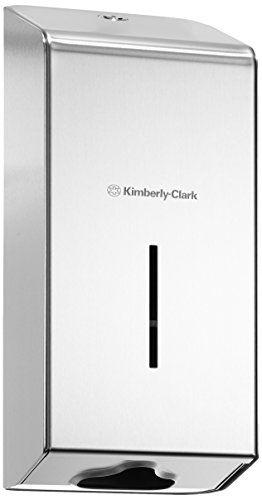Kimberly-Clark Professional 8972 Toilet Tissue Dispenser, Stainless Steel