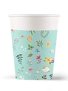 Procos vaso de papel 200ML True Princess, Multicolor, 5pr88959