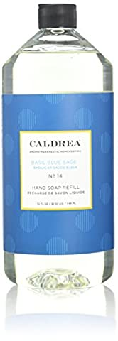 Caldrea - Liquid Hand Soap Refill, Basil Blue Sage, 32