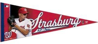 Washington Nationals Stephen Strasburg Premium Pennant Washington Nationals Helm