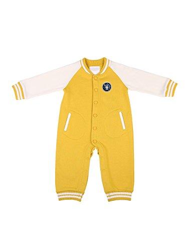 oceankids-bebe-garcons-bebes-filles-jaune-combinaison-de-jersey-cotele-combinaisons-et-barboteuses-9