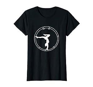 Damen Rhönrad Sport Gymnastik Rhönradturnen Rhönradfahren T-Shirt