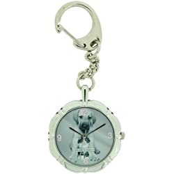 Keith Kimberlin Ladies Keyring With Image Of A Dog And A Kitten On The Dial