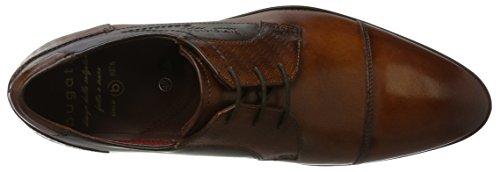Bugatti 312164031111, Derby Homme Marron (Cognac / Bordo)