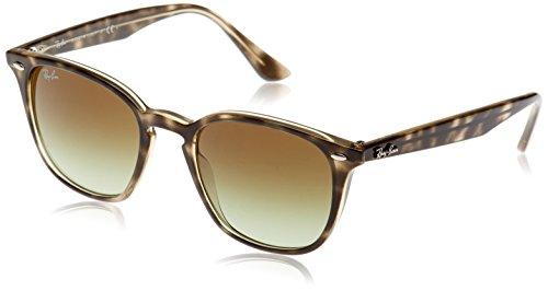 Ray-Ban Rayban Unisex-Erwachsene Sonnenbrille 4258 Havana Grey/Green Gradient Brown, 50