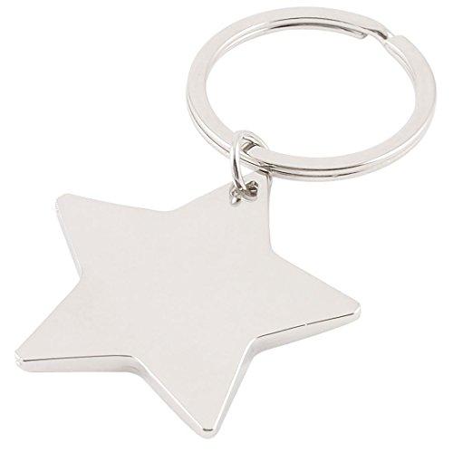 TOOGOOR Llavero pendiente forma estrella cinco puntas